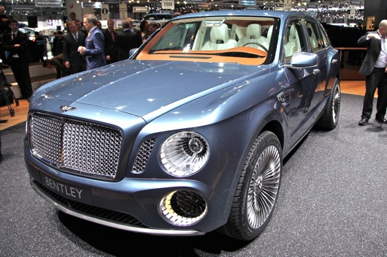 Bentley EXP 9 F: Geneva Auto Show featured image large thumb1