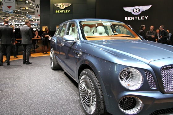 Bentley EXP 9 F: Geneva Auto Show featured image large thumb5