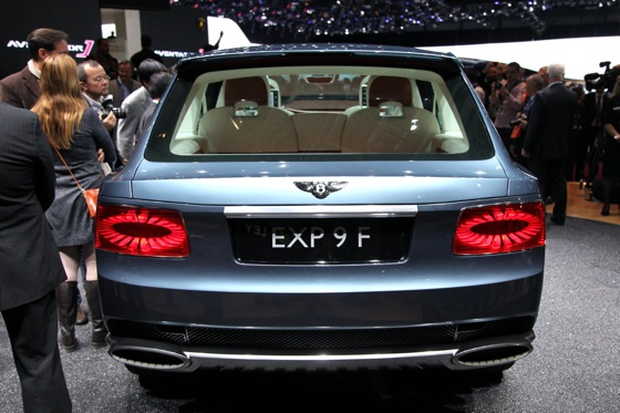 Bentley EXP 9 F: Geneva Auto Show featured image large thumb7