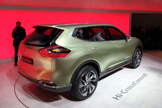 Nissan Hi-Cross Concept Vehicle: Geneva Auto Show featured image large thumb7