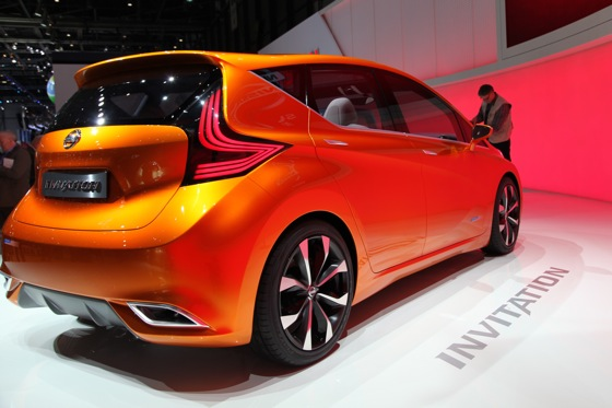 Nissan INVITATION Concept Vehicle: Geneva Auto Show featured image large thumb11
