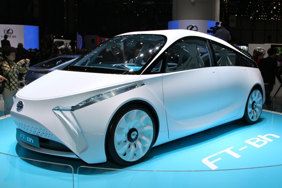Toyota FT- Bh Concept: Geneva Auto Show featured image large thumb0