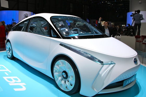 Toyota FT- Bh Concept: Geneva Auto Show featured image large thumb2