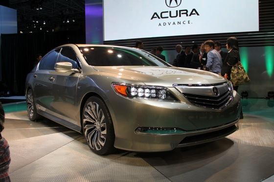 Acura RLX Concept: New York Auto Show featured image large thumb0