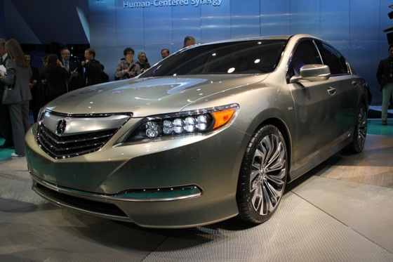 Acura RLX Concept: New York Auto Show featured image large thumb3