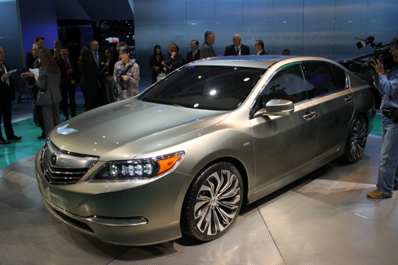 Acura RLX Concept: New York Auto Show featured image large thumb4