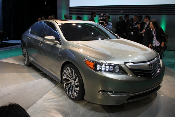 Acura RLX Concept: New York Auto Show featured image large thumb2