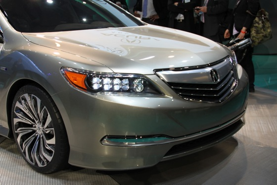 Acura RLX Concept: New York Auto Show featured image large thumb5