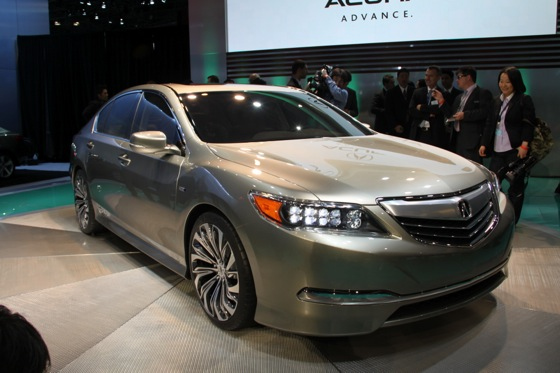 Acura RLX Concept: New York Auto Show featured image large thumb1