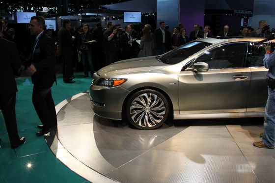 Acura RLX Concept: New York Auto Show featured image large thumb9