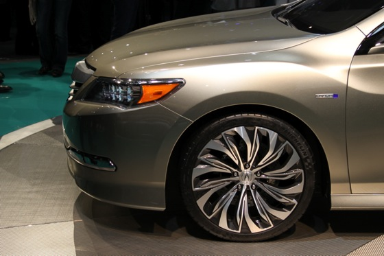 Acura RLX Concept: New York Auto Show featured image large thumb7