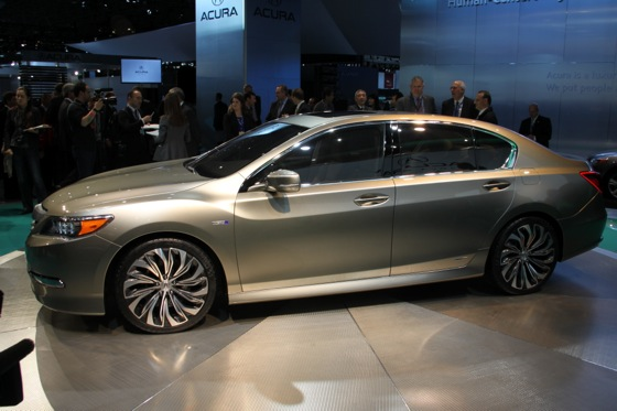 Acura RLX Concept: New York Auto Show featured image large thumb11