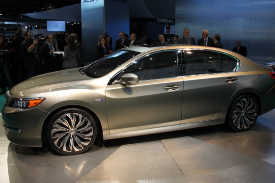 Acura RLX Concept: New York Auto Show featured image large thumb10