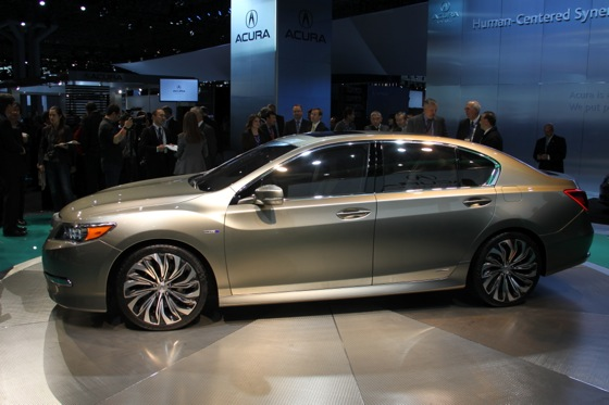 Acura RLX Concept: New York Auto Show featured image large thumb12