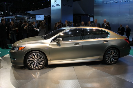 Acura RLX Concept: New York Auto Show featured image large thumb13