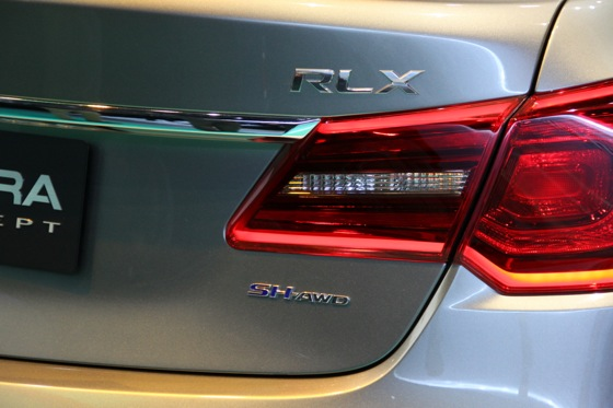 Acura RLX Concept: New York Auto Show featured image large thumb18
