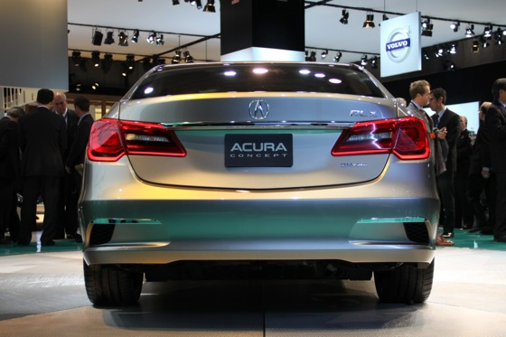 Acura RLX Concept: New York Auto Show featured image large thumb19