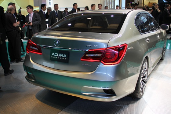 Acura RLX Concept: New York Auto Show featured image large thumb20
