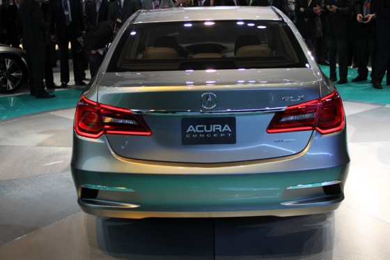 Acura RLX Concept: New York Auto Show featured image large thumb24