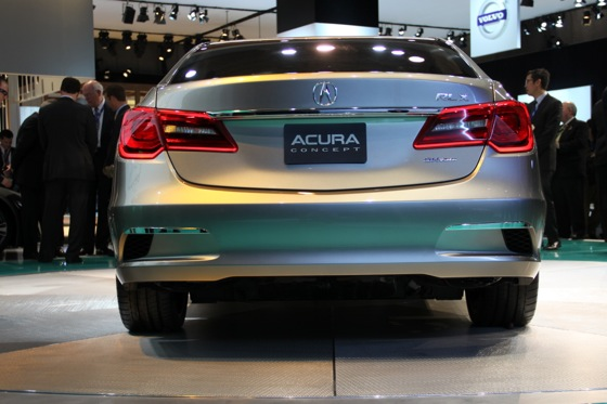 Acura RLX Concept: New York Auto Show featured image large thumb25