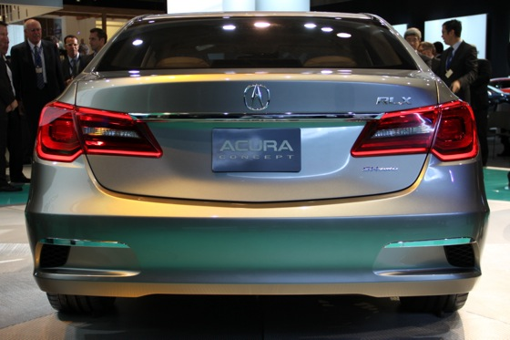 Acura RLX Concept: New York Auto Show featured image large thumb23