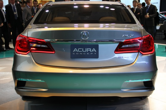 Acura RLX Concept: New York Auto Show featured image large thumb22