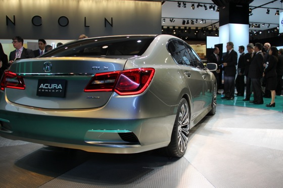 Acura RLX Concept: New York Auto Show featured image large thumb28