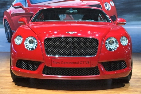 2013 Bentley Continental GT: New York Auto Show