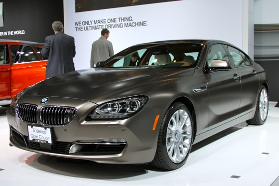 2013 BMW 6 Series GranCoupe: New York Auto Show