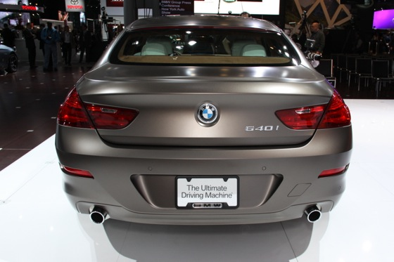 2013 BMW 640i Gran Coupe: New York Auto Show featured image large thumb1