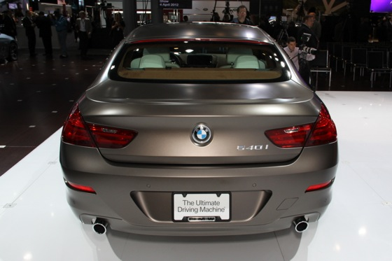 2013 BMW 640i Gran Coupe: New York Auto Show featured image large thumb2