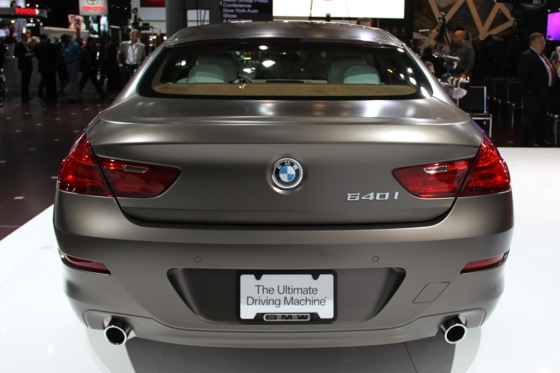 2013 BMW 640i Gran Coupe: New York Auto Show featured image large thumb3