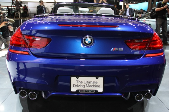 2012 BMW M6 Convertible: New York Auto Show featured image large thumb3