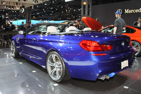 2012 BMW M6 Convertible: New York Auto Show featured image large thumb4