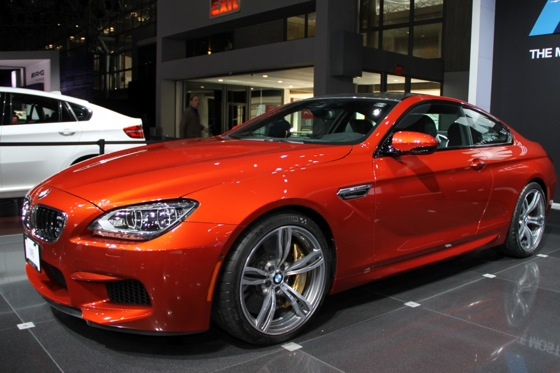 2013 BMW M6 Coupe: New York Auto Show featured image large thumb2