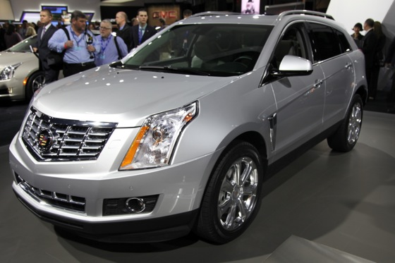 2013 Cadillac SRX: New York Auto Show featured image large thumb0