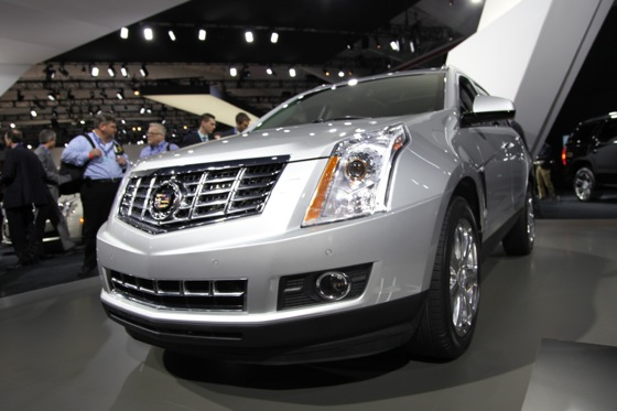 2013 Cadillac SRX: New York Auto Show featured image large thumb1