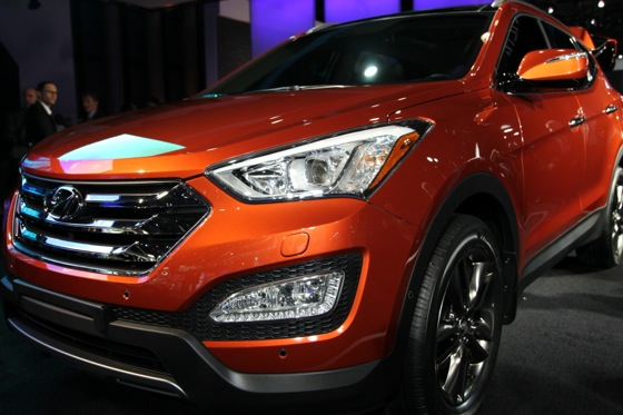 2013 Hyundai Santa Fe: New York Auto Show featured image large thumb9