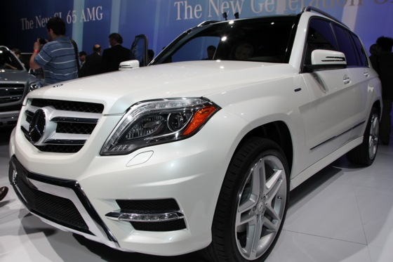 2013 Mercedes GLK: New York Auto Show