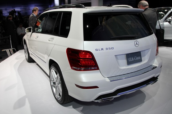 2013 Mercedes GLK: New York Auto Show featured image large thumb4