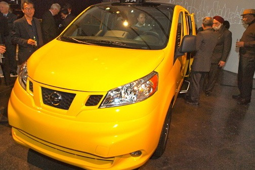 2013 Nissan NV Taxi: New York Auto Show