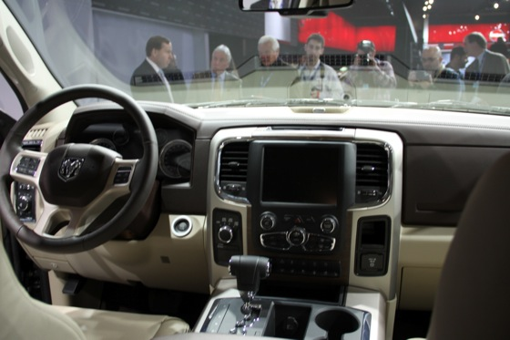 2013 RAM 1500: New York Auto Show featured image large thumb10