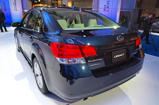 2013 Subaru Legacy: 2012 New York Auto Show featured image large thumb2