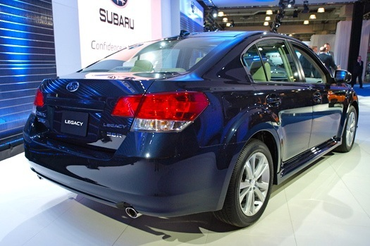 2013 Subaru Legacy: 2012 New York Auto Show featured image large thumb4