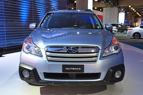 2013 Subaru Outback: New York Auto Show