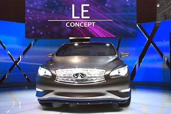 Infiniti LE Concept Electric Car: New York Auto Show
