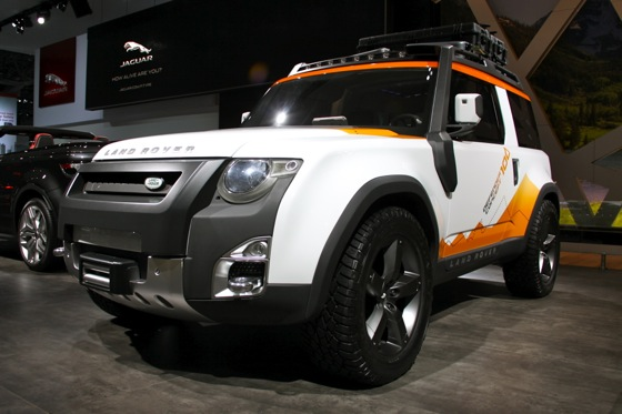 Land Rover Updates: New York Auto Show featured image large thumb0