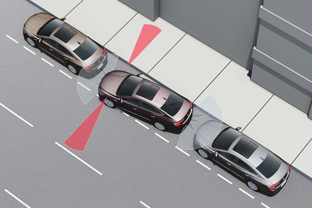 Automated Parallel parking
