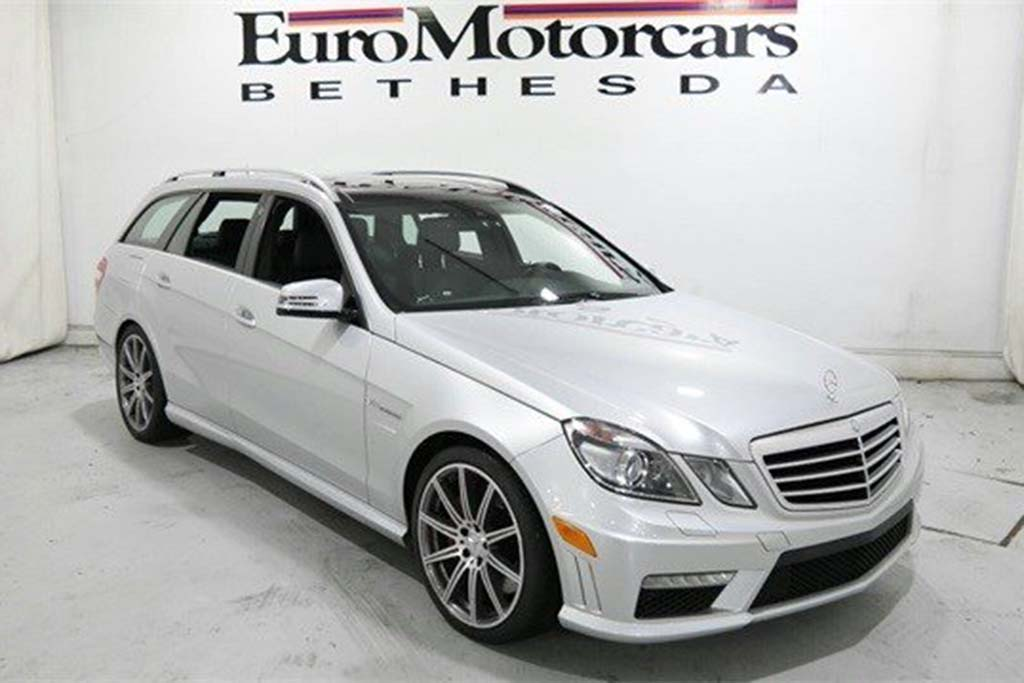 2012 Mercedes-Benz E63 Wagon