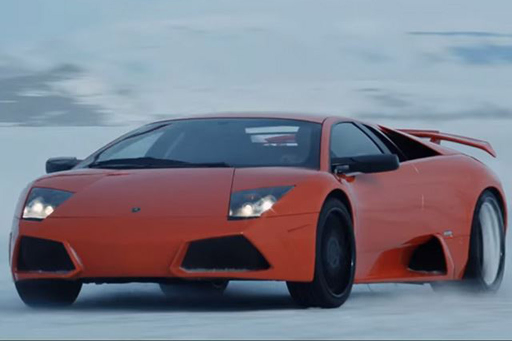 """The Fate of the Furious"": Lamborghini Murcielago LP640"
